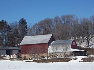 Sauk County, Wisconsin - Farming in Sauk County near Reedsburg