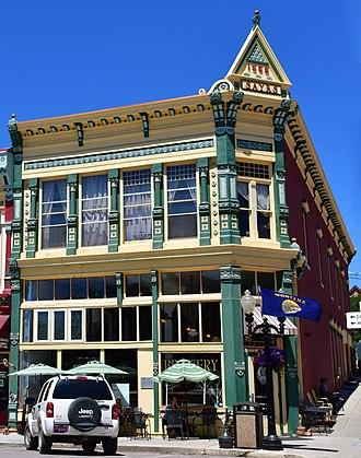 Philipsburg, Montana - Sayrs Building (1888),  Broadway. 2018 photo