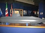 Scale 1-25 Model of Type 212 Submarine Salvatore Todaro (S 526) - Mostra istituzionale della Marina Militare (Sept. 2008) - Villa Genoese Zerbi (Reggio Calabria) - Italy - (4).jpg
