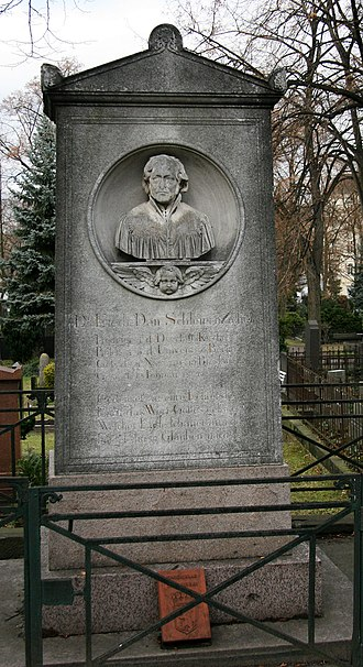 Friedrich Schleiermacher - His grave in Berlin