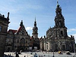 Schloßplatz in Dresden