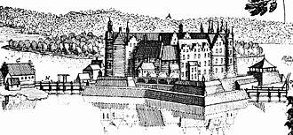 Schwerin Palace - Schwerin Castle in 1653