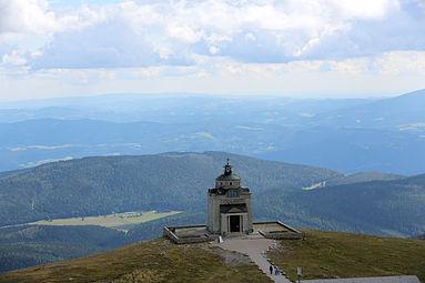 Schneeberg Kaiserin-Elisabeth-Gedächtniskirche September 2014 k.jpg