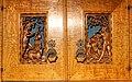 Schrank mit geschnitzten Motiven nach Albrecht Dürer (1510-20). 2.jpg