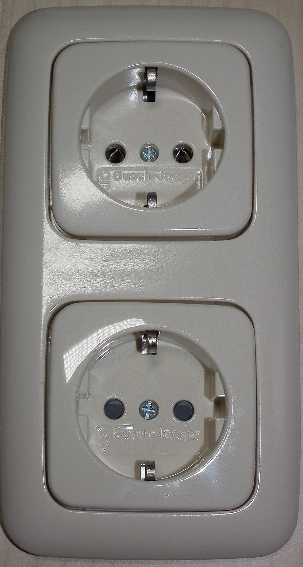 Schuko (CEE 7-3) socket-outlets, with and without shutters