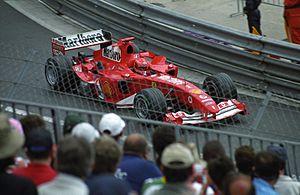2004 Monaco Grand Prix - Michael Schumacher during free practice