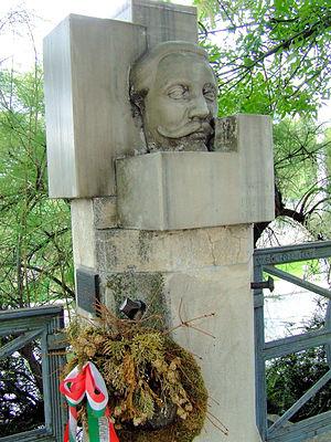József Schweidel - Sculpture of Schweidel