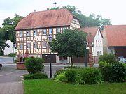 Schweinberg (municipality Hardheim) village square.JPG
