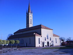 Sečovce Roman Catholic church.JPG