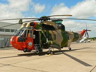 40th Squadron Heli (Belgium) - A Westland Sea King of the 40th Squadron Heli