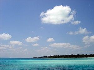 Bangaram Atoll - Image: Sea off Bangaram island, Lakshadweep