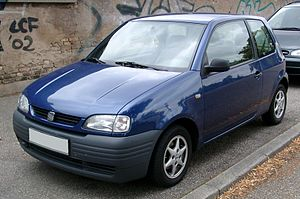 SEAT Arosa - Image: Seat Arosa front 20080722