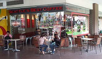 Seattle's Best Coffee - Seattle's Best Coffee at Market! Market! in Metro Manila, Philippines