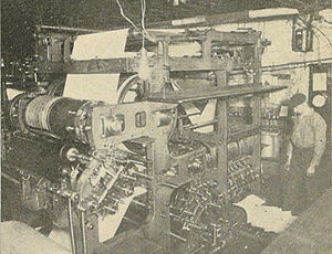 History of the Technion – Israel Institute of Technology - New means of communication with big printing presses opened new possibilities for early Zionists.