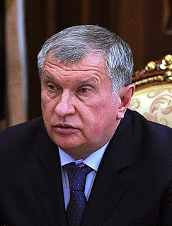 Igor Sechin Russian businessman