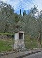Second station of the cross Josef Moroder Lusenberg in Laghel Arco.jpg