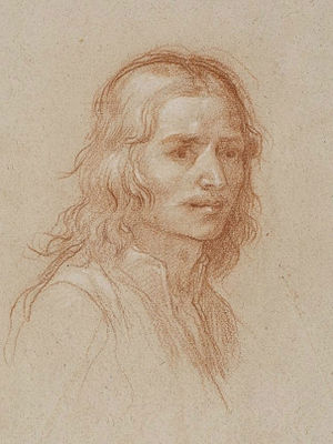 Baldassare Franceschini - Self-portrait