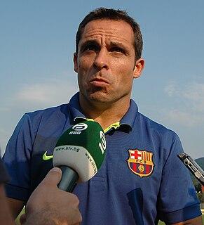 Sergi Barjuán Spanish footballer