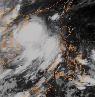 1994 Pacific typhoon season - Image: Sharon 94 06 24 00Z