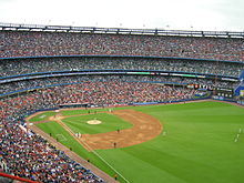 Match de baseball au Shea Stadium