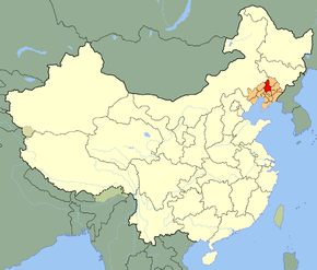 Shenyang Location in China.png