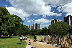 Shepherds Bush Common in London, spring 2013 (4).jpg