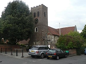 Shepperton - Shepperton's parish church of Saint Nicholas