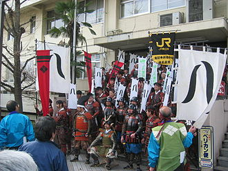 Takeda Shingen - Takeda Shingen and soldiers in 2006