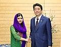 Shinzō Abe and Malala Yousafzai (1).jpg