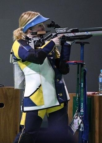 Virginia Thrasher - Virginia Thrasher at the 2016 Summer Olympics