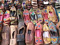 Shopping for Ethnic shoes At Calangut beach - panoramio.jpg
