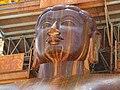 Shravanbelgola Gomateshvara head closeup.jpg