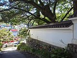 Shuzenji(temple), Wall, 20110919.jpg