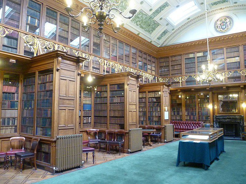 Sibbald Library, Royal College of Physicians, Edinburgh