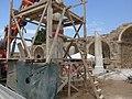 Side, Turecko - rekonstrukce chrámu bohyně Athény.jpg