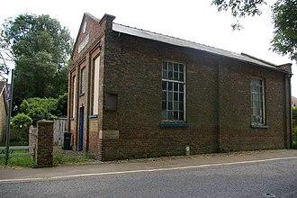 Stowbridge - Side view of former Bethesda chapel