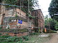Side view of the Clive's House with supporting iron bars at Dumdum,24 Parganas(North).JPG