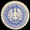 Siegelmarke Eisenbahn Direktions Bezirk Bromberg - Königliches Eisenbahn Betriebs - Amt Schneidemühl W0229443.jpg