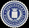 Siegelmarke Gemeindeamt Windisch Kamnitz W0321260.jpg