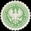 Siegelmarke K. Gewerbe-Inspection Aurich W0383964.jpg