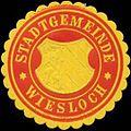 Siegelmarke Stadtgemeinde Wiesloch W0350106.jpg
