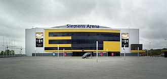 Siemens Arena - Image: Siemens Arena Facade