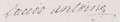 Signature of Louis Antoine d'Artois, Duke of Angoulême at his own wedding in 1799.png