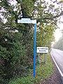 Signpost along Basin Road, Heybridge. - geograph.org.uk - 83572.jpg