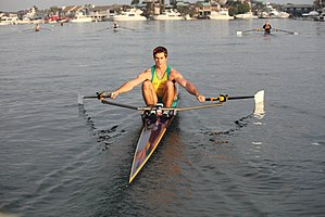 Sculling - Image: Single Sculler
