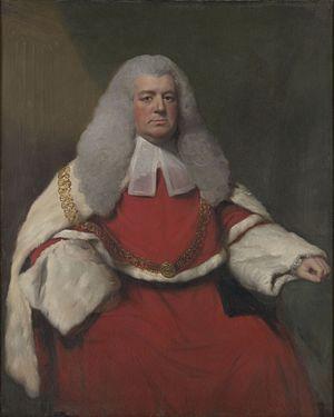 James Eyre (judge) - Sir James Eyre, 1770 portrait by Lemuel Francis Abbott.