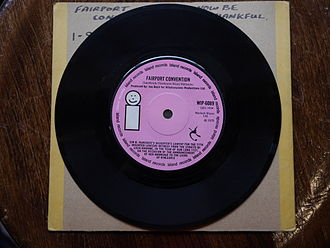 Now Be Thankful - The B-side on an original 45 rpm single