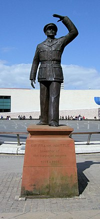 Sir Frank Whittle Statue, Coventry.jpg