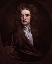 isaac newton  newton in a 1702 portrait by godfrey kneller