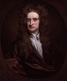Sir Isaac NewtonRitratto di Sir Godfrey Kneller, 1702, olio su tela